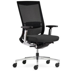 Klöber Duera (due88) Bürodrehstuhl mit Netzrücken - Rückenlehne mittelhoch