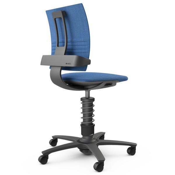 Aeris 3Dee Bürostuhl Capture blau High-Feder - Gestell schwarz