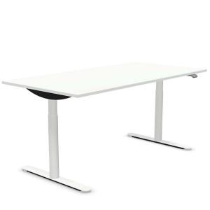 BOSSE M3-Economy DESK höhenverstellbarer Schreibtisch weiß - 160x80