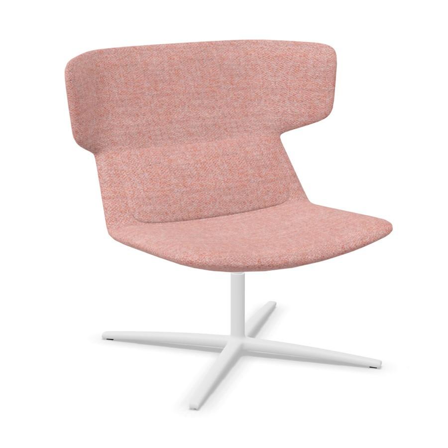 LD Seating FLEXI Loungesessel F27-N0 Gestell weiß LD1024