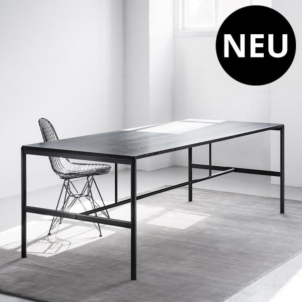 MILLION Copenhagen MIES Dining Table - Tischplatte u. Gestell schwarz