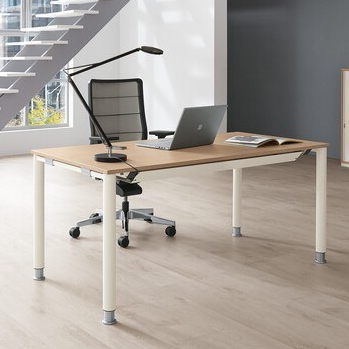 Palmberg SYSTO TEC Schreibtisch Vierfuß Rundrohr PM100011