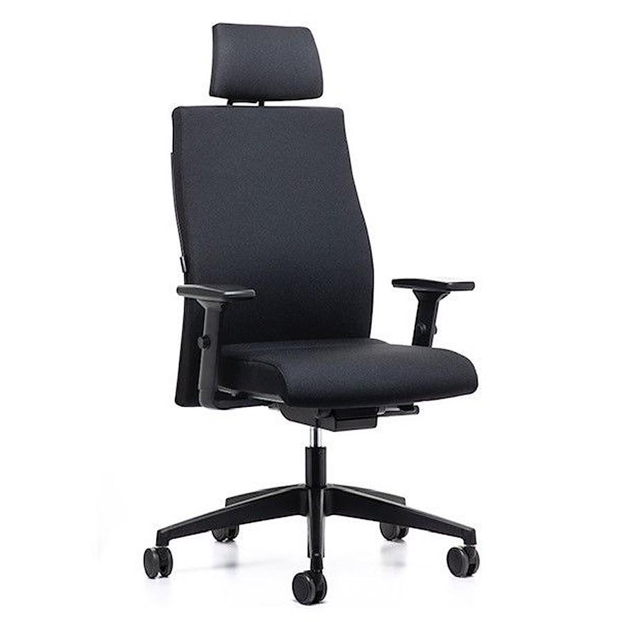 Interstuhl Ergonomic (179RS) Bürostuhl mit Polsterrücken, Kopfstütze und Auto... IS10410