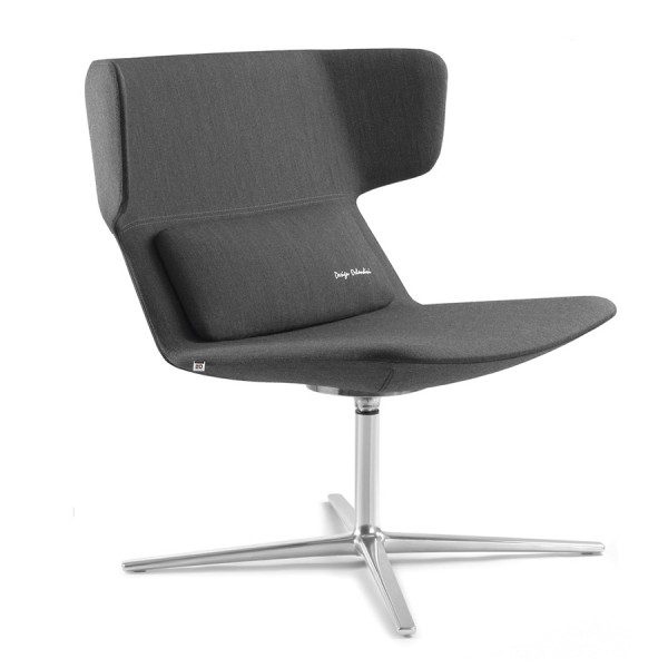 LD Seating Ohrendrehsessel FLEXI Gestell chrom