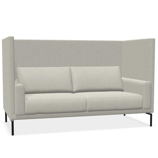 W. Schillig Impériale 2-Sitzer Sofa Akustiksofa mit Rückwänden 195 cm - Farbe Beige