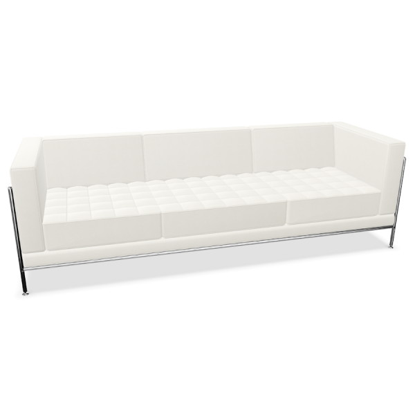 Bosse Modul Space Sofa in Leder Weiß