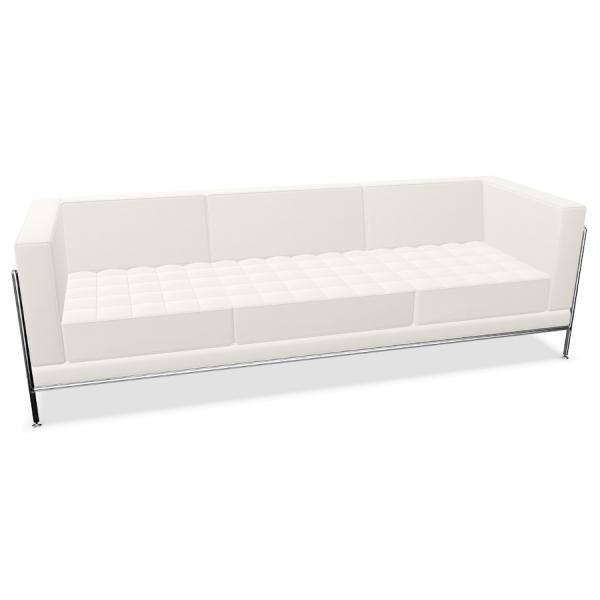 Bosse Modul Space Sofa in Leder Weiß