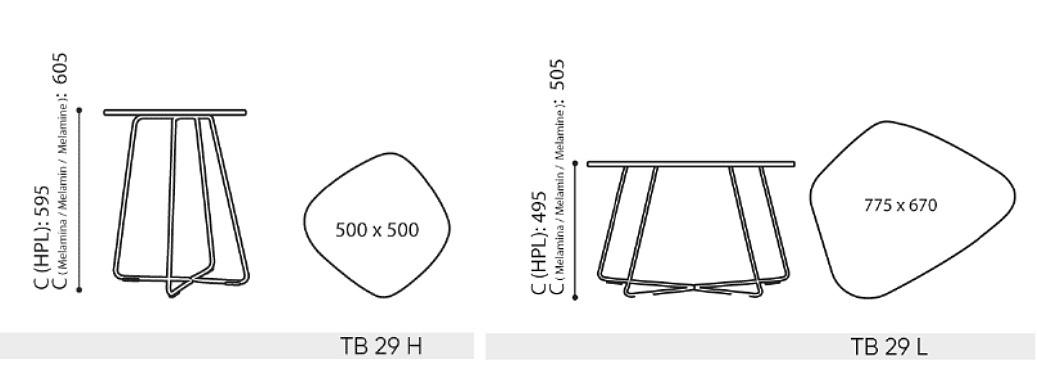 Masse-TB-Tisch