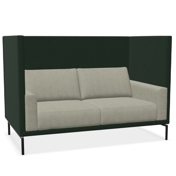 W. Schillig Impériale 2er Sofa - hoher Rücken- und Armteilkorpus