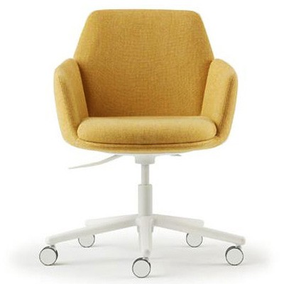 Haworth Poppy Bürostuhl Home-Office gelb