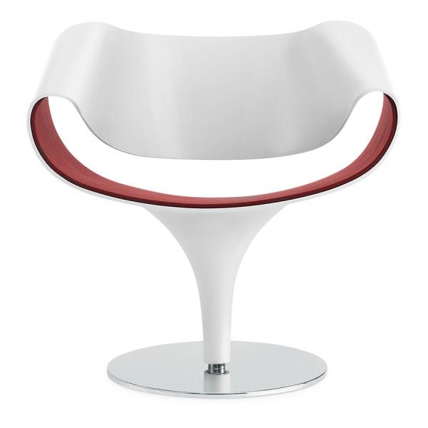 Züco PERILLO Lounge Sessel PR 081 - Schale/Tulpe deckend lackiert