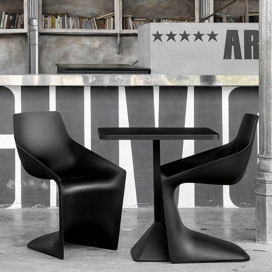 Kristalia PULP Stuhl Farbe schwarz KR10042