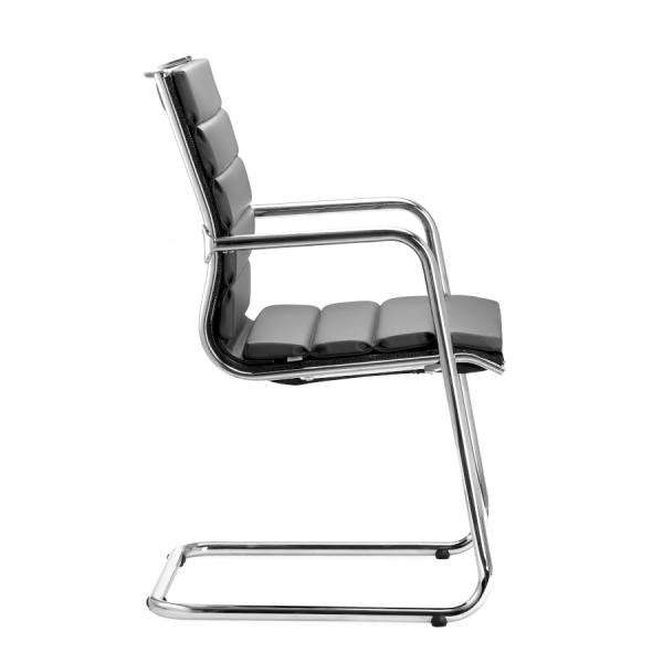 LD Seating Puto Freischwinger Flachpolster schwarz