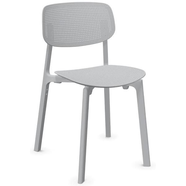 Kristalia COLANDER Chair Hellgrau