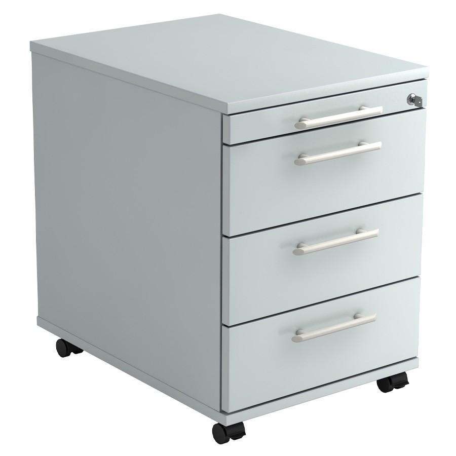 RWH Rollcontainer Schreibtischcontainer ROCK grau RWH11613