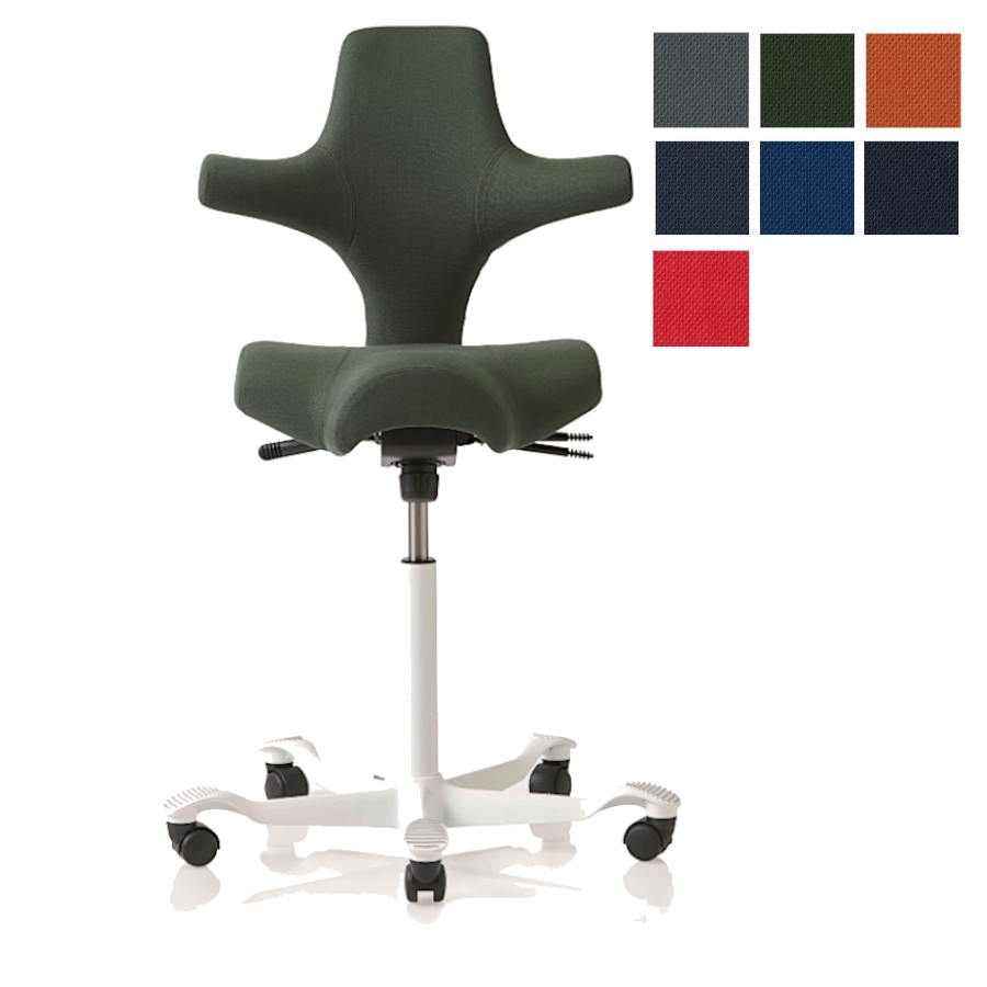 HAG Capisco 8106 Sattelstuhl Bürostuhl in Stoff Select HAG100160