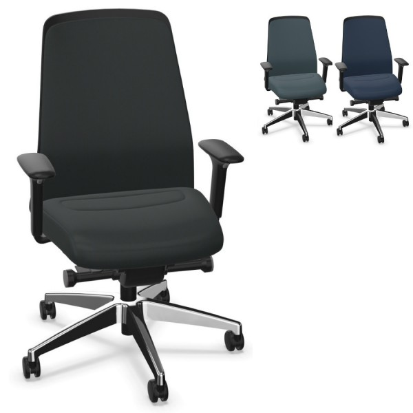 Interstuhl EVERYis1 (EV31C) Bürostuhl Chillback Comfort, Komplettausstattung - Express Modell