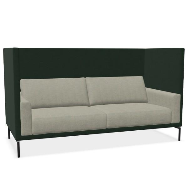 W. Schillig Impériale 2er Sofa groß - hoher Rücken- und Armteilkorpus