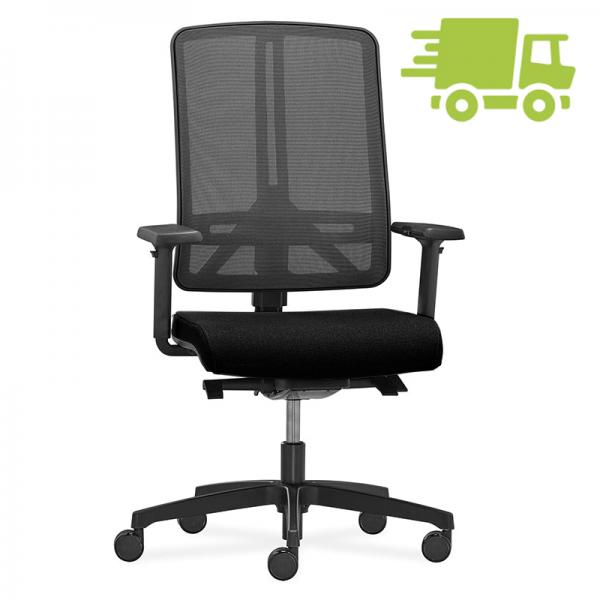 RWH Profi 1 Bürodrehstuhl mit Netzrücken schnell geliefert